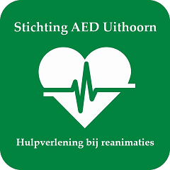 Logo stichting aed uithoorn-home